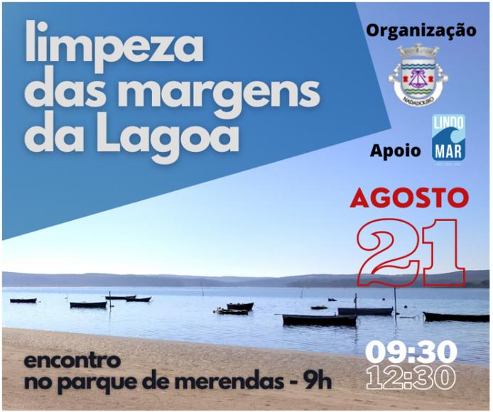 LIMPEZA DAS MARGENS DA LAGOA